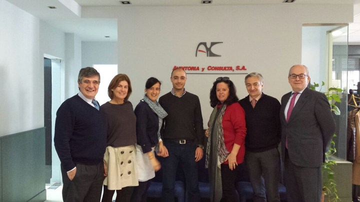 INPACT Administrator Visits Auditoria y Consulta in Seville, Spain
