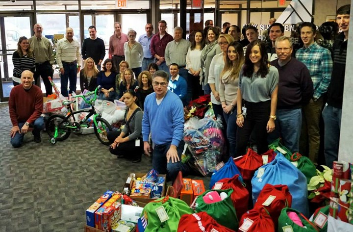 INPACT Gives Back during the Holiday Season of 2014