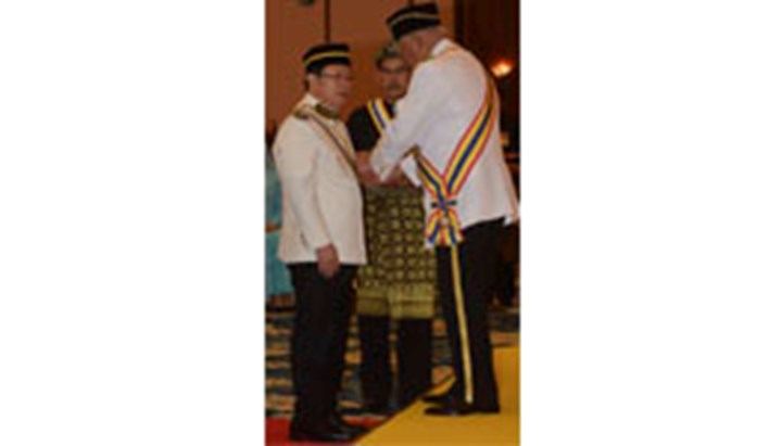 INPACT member receives knighthood in Malaysia