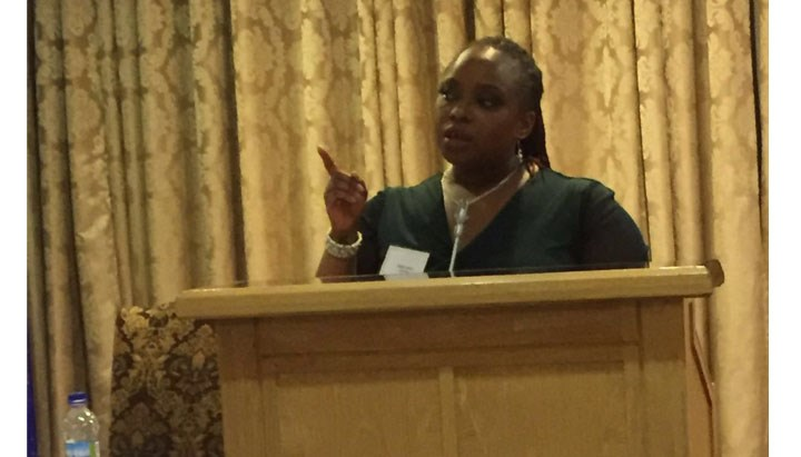 INPACT's Tendai White speaks at the Zimbabwe Accountant's Conference