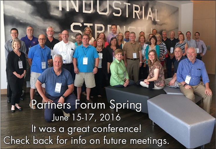 Partners Forum Spring 2016