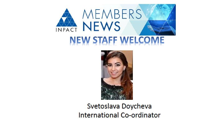 INPACT Welcomes a New Member of Staff to the Executive Office