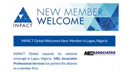 INPACT Welcomes New Member in Lagos, Nigeria
