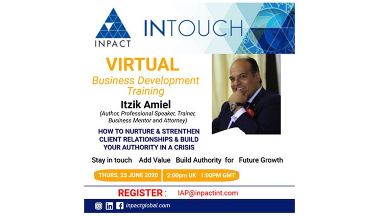 INPACT Training & Business Development with Itzik Amiel